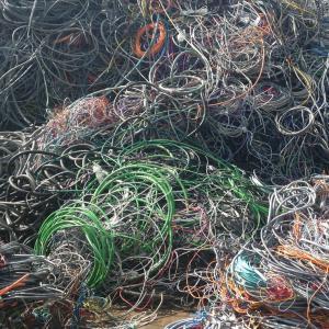 PVC koper kabel gemixt